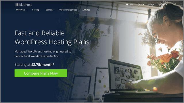 Bluehost - Best WordPress Hosting Service