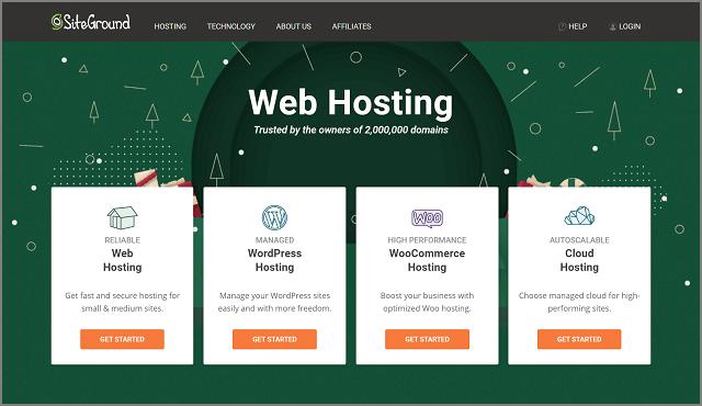 SiteGround - Top WordPress Hosting Provider