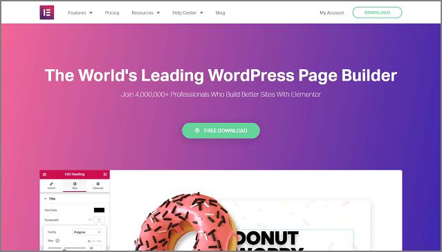 Elementor: las mejores herramientas para blogs