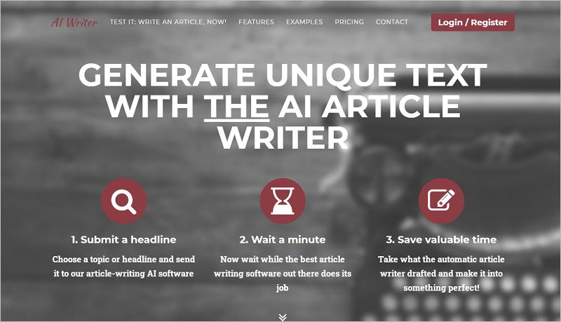 Unique Article Generator Online
